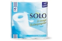 solo 2 laags toiletpapier