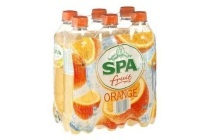 spa en fruit orange frisdrank 6 pack
