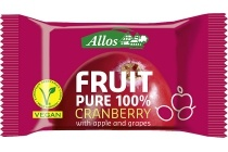 allos fruit pure 100 cranberry
