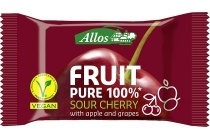 allos fruit pure 100 sour cherry