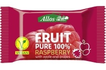 allos fruit pure 100 raspberry