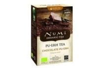 numi pu erh thee chocolade