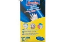 spontex latex handschoenen