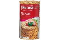 finn crisp sesame rounds