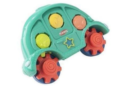 playskool roll n gears car