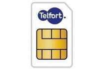 telfort sim only 500 mb 150 min onbeperkt sms