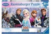 frozen ravensburger puzzle 200 stukjes