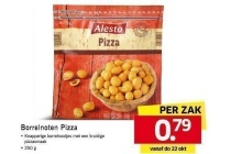 alestro borrelnoten pizza