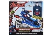 hasbro avengers titan figuur voertuig