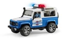 bruder landrover politieauto