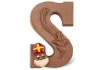 luxe gedecoreerde chocoladeletter