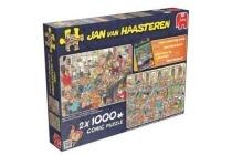 jvh puzzel 2 in 1 fijne feestdagen
