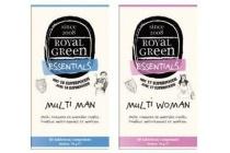 royal green multi man en multi vrouw
