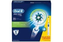 oral b elektrische tandenborstel pro690 cross action duo