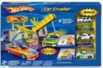 hot wheels car crusher
