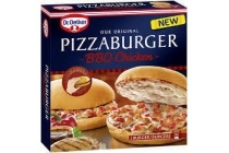 dr oetker pizzaburger bbq chicken