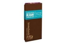 lovechock raw chocolade met cacaonibs a a en zeezout