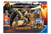 ravensburger 3 puzzels dragons