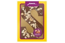 jamin chocoladeletter luxe notentopping