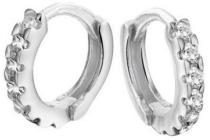 zilveren kinderoorbellen zirkonia