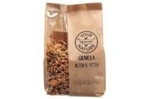 your organic nature granola noten en amp pitten
