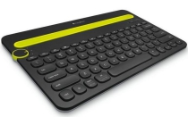 logitech toetsenbord k480 multi device keyboard black