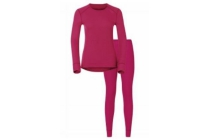 odlo thermoshirt en broek set dames