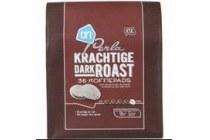 ah perla koffiepads dark roast
