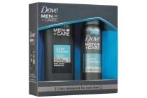 dove men care clean comfort geschenkset