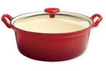 le chef braadpan met glazen deksel en oslash 24 cm