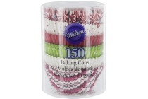 wilton baking cups xmas
