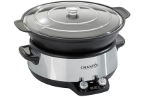 crock pot digital saut en eacute slowcooker 6 l