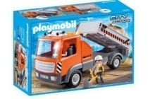 playmobil city action kiepvrachtwagen 6861