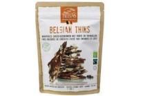 belvas belgian thins melk kokos amandelen