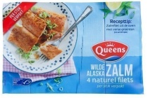 queens wilde alaska zalmfilets