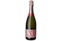 champagne montaudon ros en eacute frans mousserende wijn