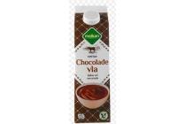 melkan chocolade vla