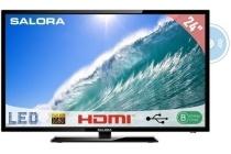 salora led televisie full hd met ingebouwde dvd speler