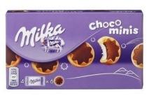 milka choco minis chocoladekoekjes