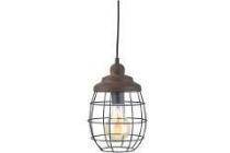 eglo vintage hanglamp bampton bruin
