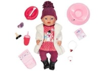 baby born interactieve pop in winteroutfit