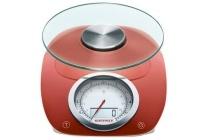 soehnle digitale keukenweegschaal vintage style red