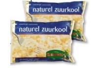 zuurkool 2 zakken en agrave 500 gram en euro 0 99