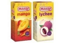 maaza en nbsp alle pakken van 1 liter en euro 1