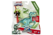 playskool jurassic world tracker dino met figuur