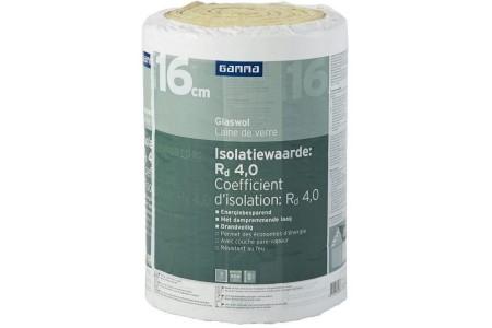 gamma glaswol isolatie en agrave 16 cm dik