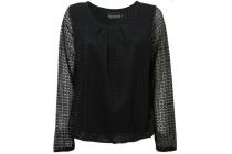 geplooide blouse