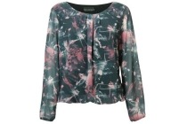 blouse met allover print
