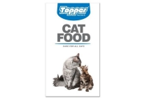 topper cat food
