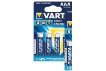 varta high energy batterijen